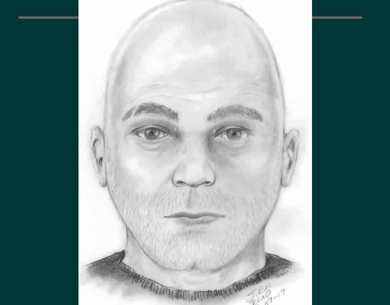 Composite Sketch Of Suspect In Sexual Assault