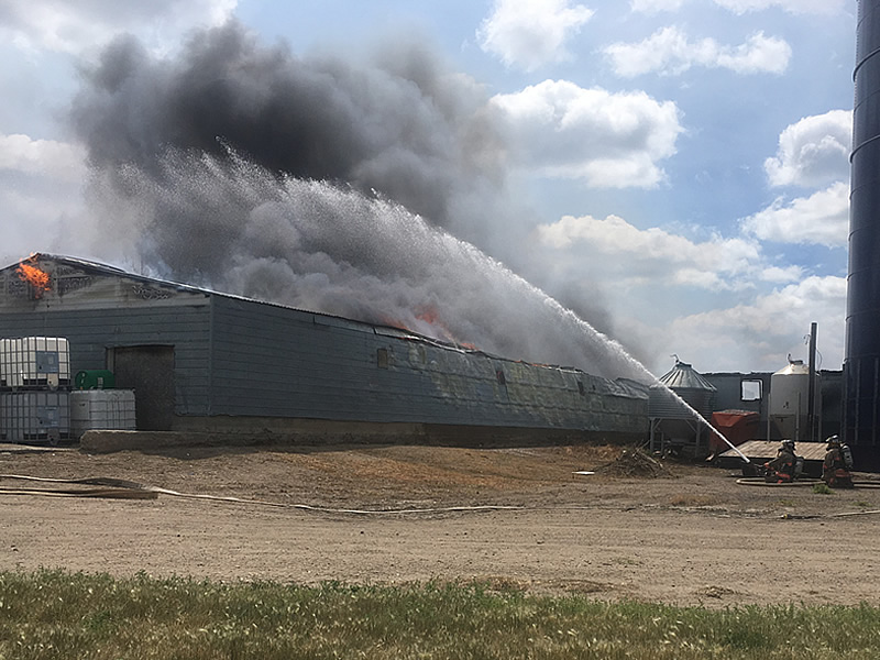 Another Fire, This Time At Riverview Hutterite Colony