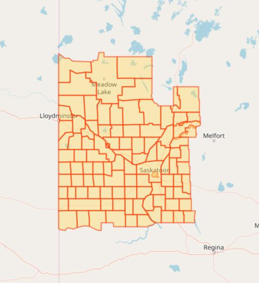 Smoke Once Again Blankets Saskatchewan