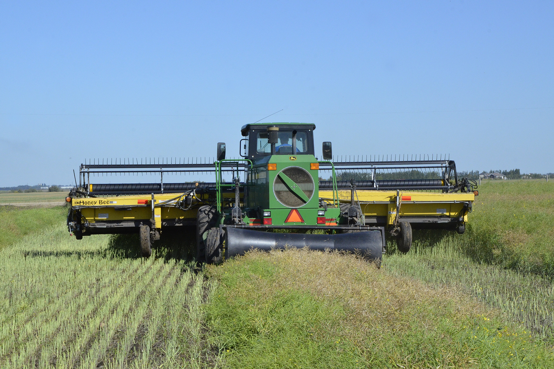 Harvest Begins in Southern Saskatchewan