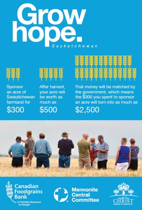 Grow Hope Saskatchewan