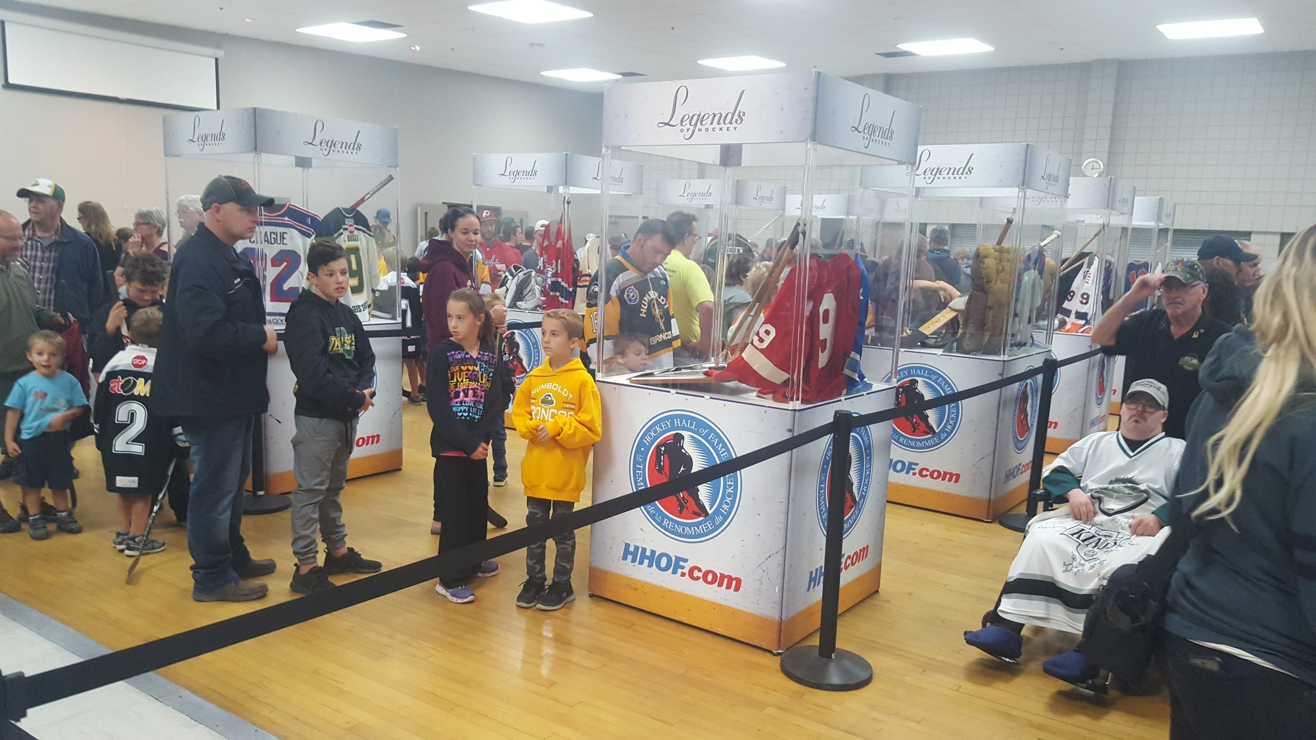 Humboldt Turns the Hockey Page With Stanley Cup Visit