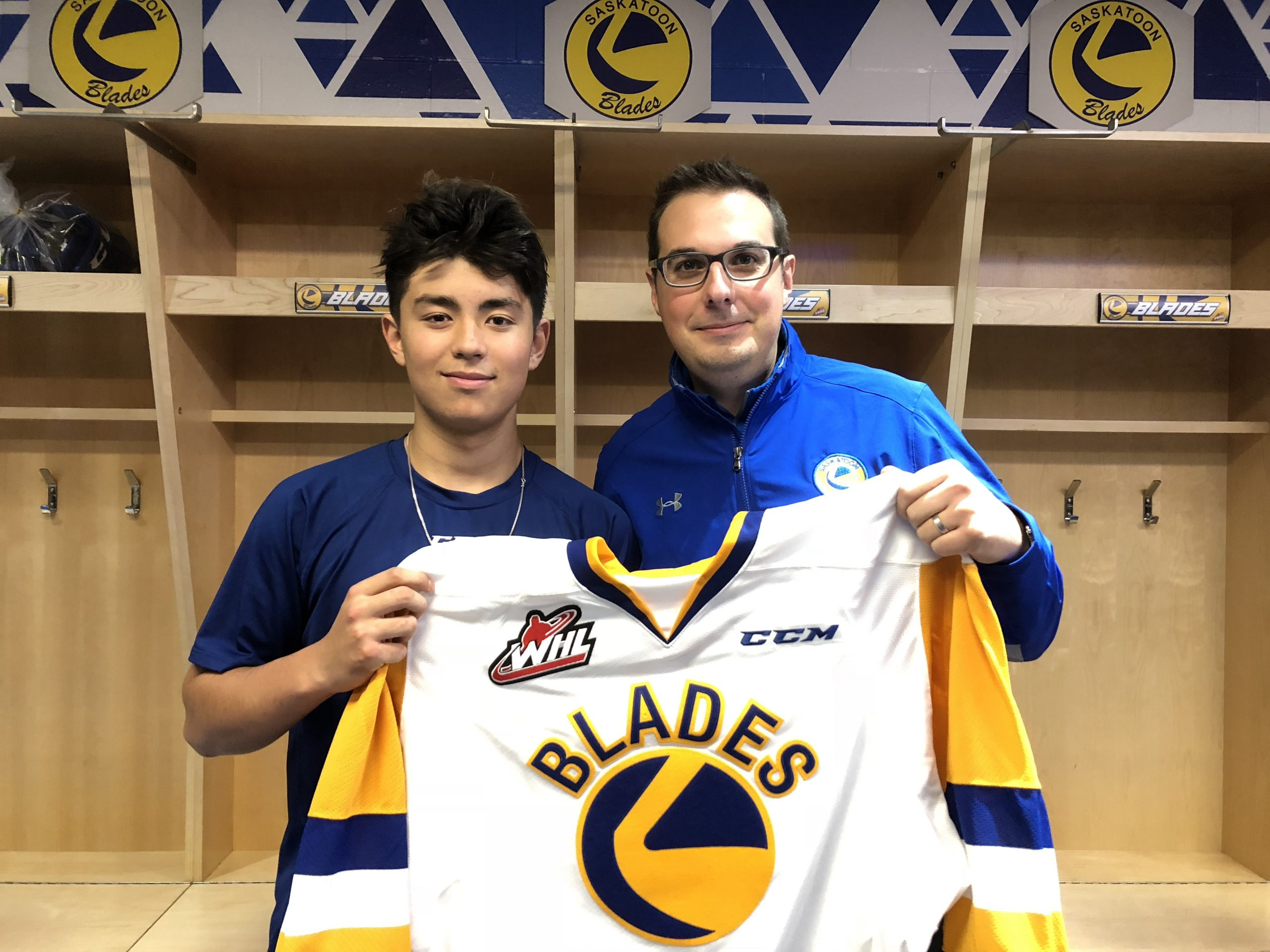 Blades Sign Late-Round Draft to WHL Contract