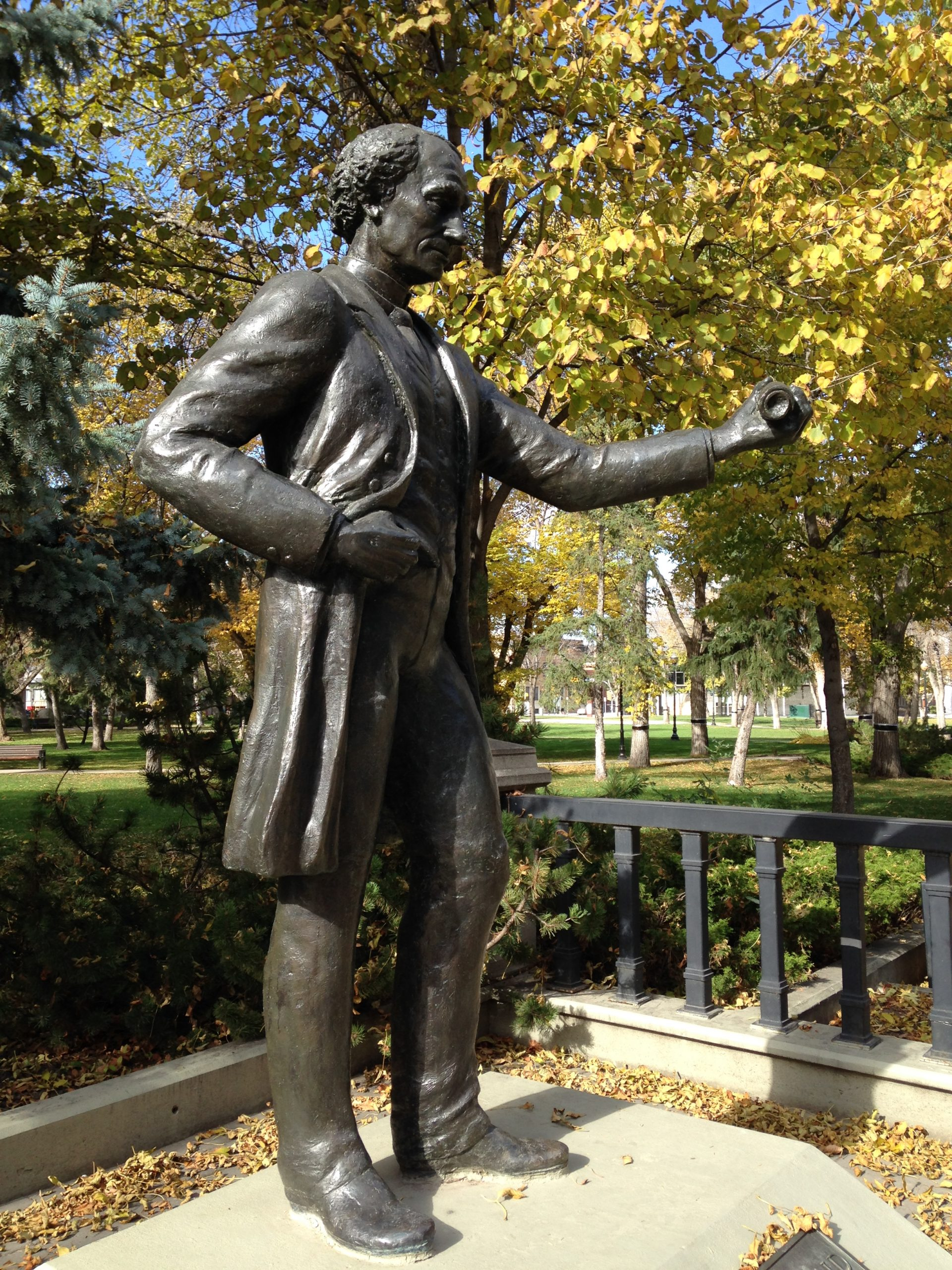 Charges Laid After Regina Statue is Vandalized