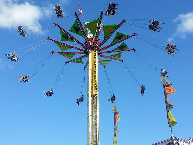 Attendance Up Significantly On Tuesday At The EX
