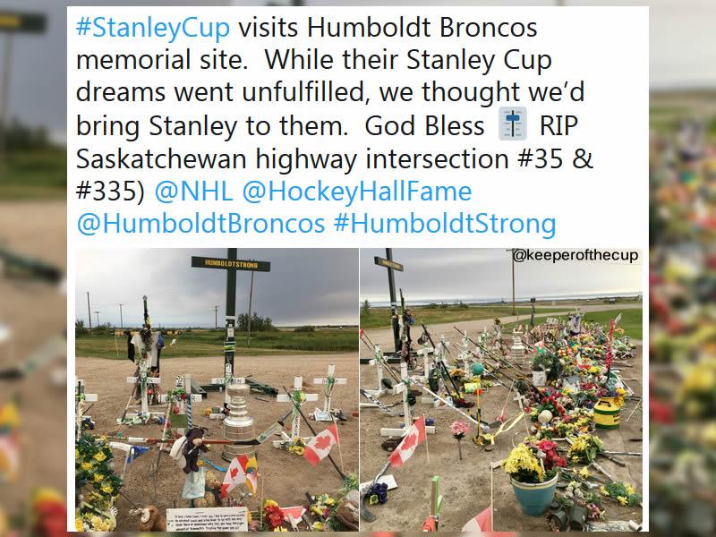 Stanley Cup Visits Humboldt