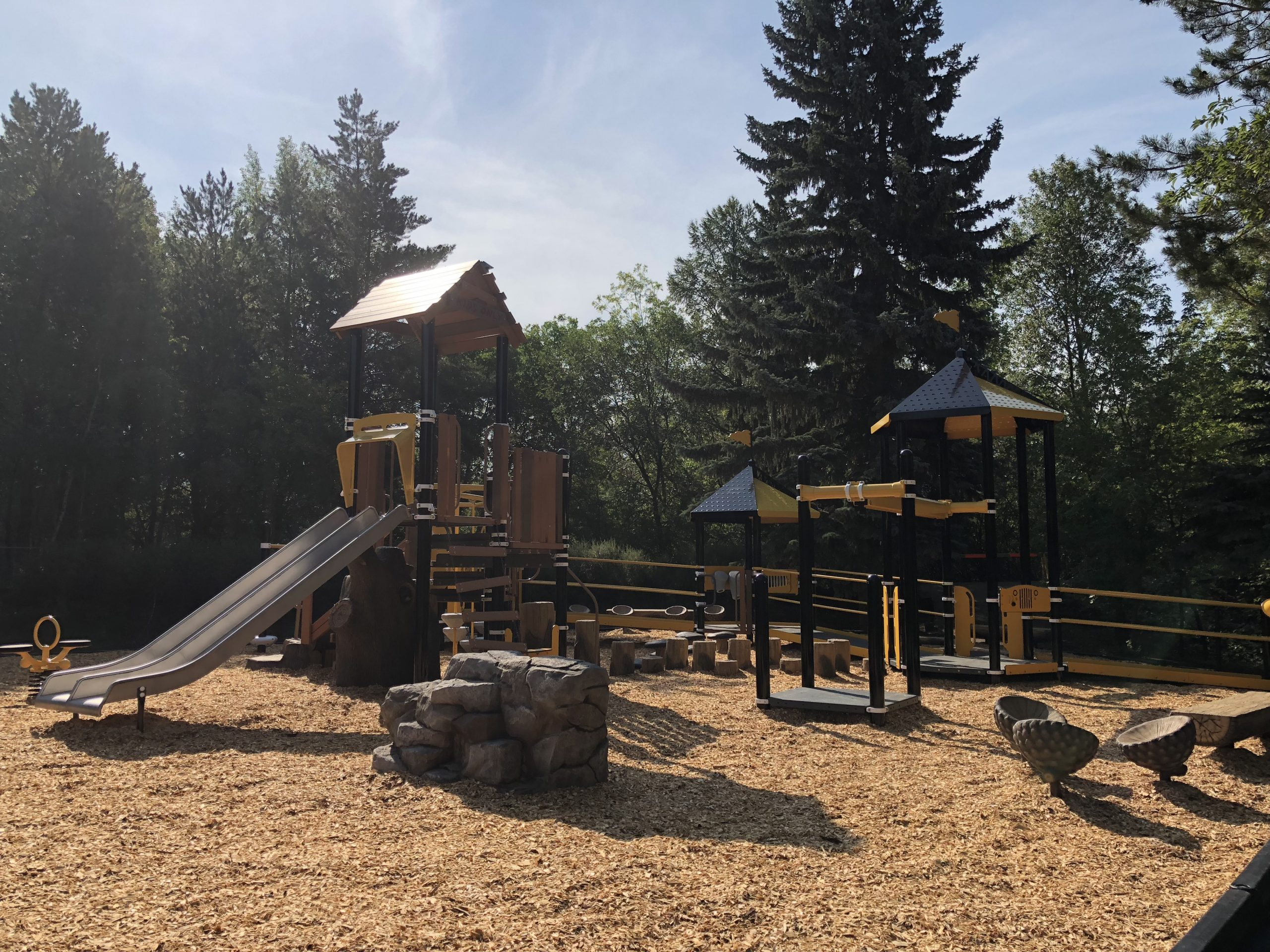 Forestry Farm features new Playground