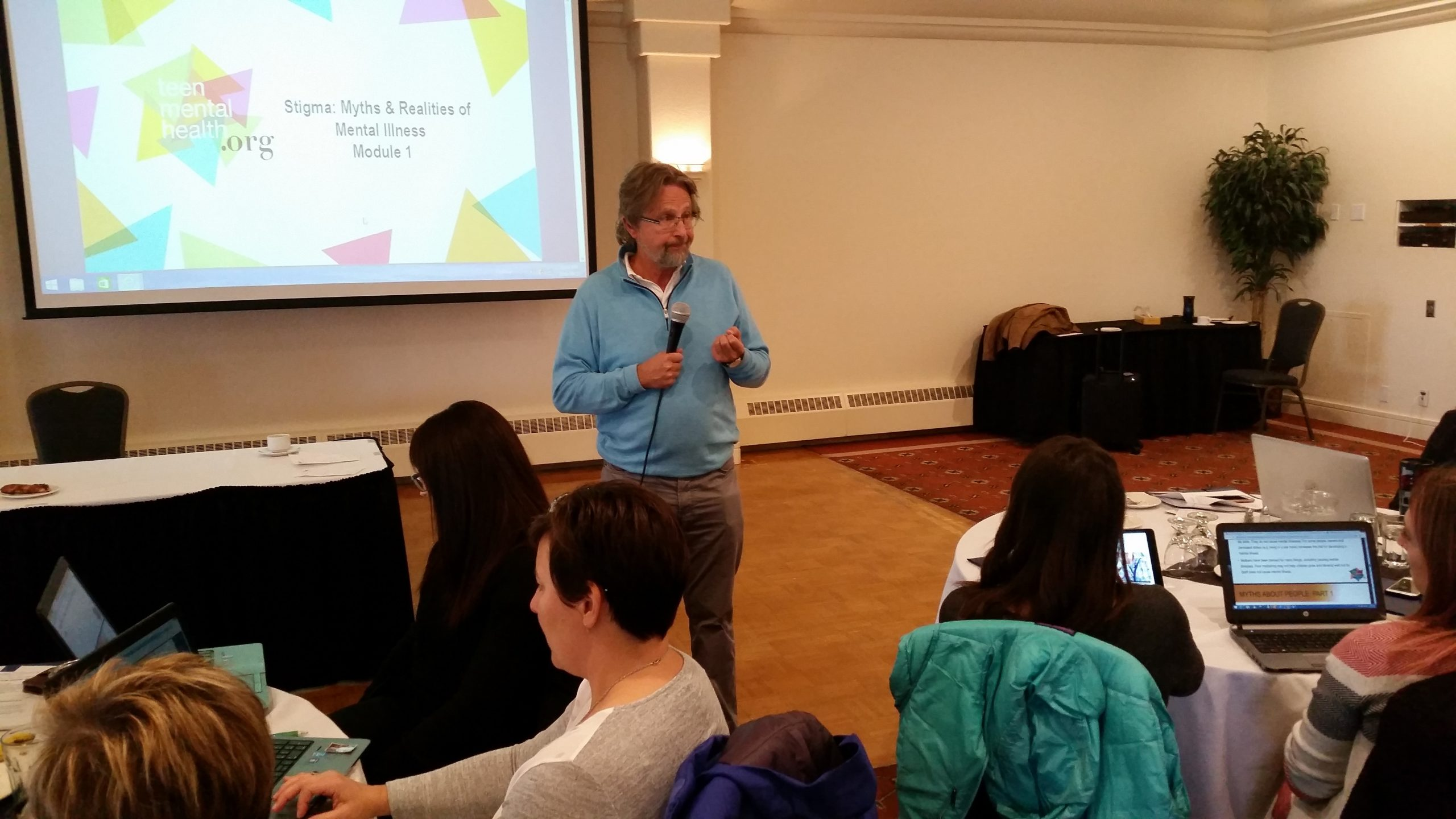 Educators learn about youth mental health