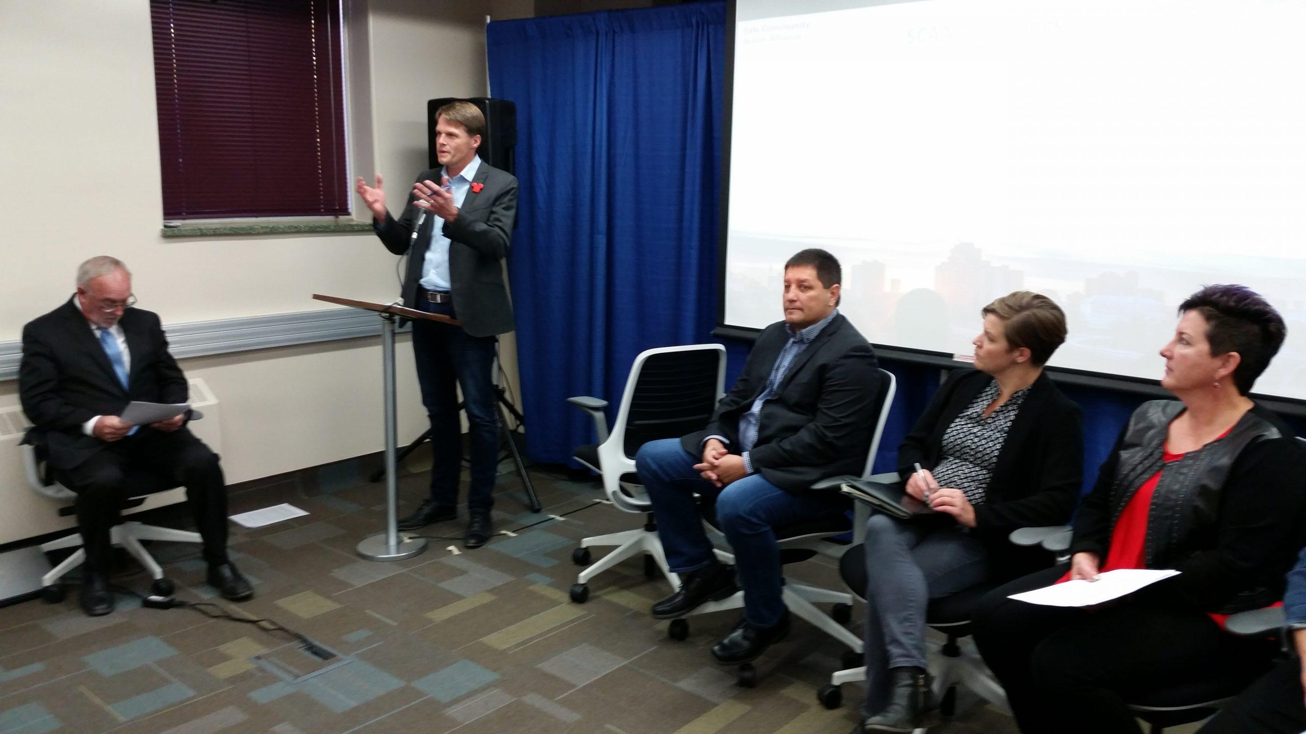 Crystal Meth and Homelessness Saskatoon's biggest problems