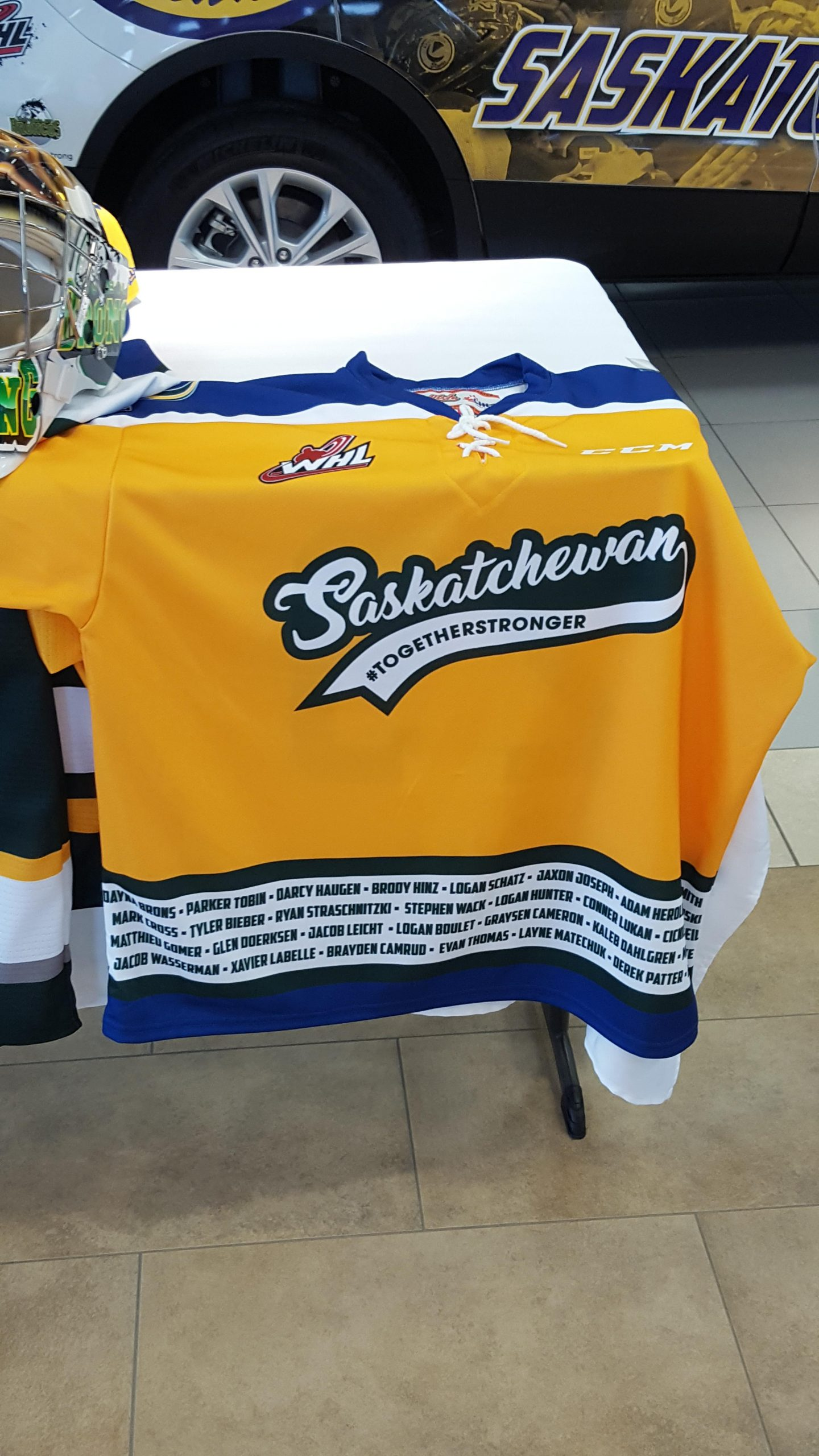 Blades to Honour Humboldt, Broncos and First Responders at Home Opener