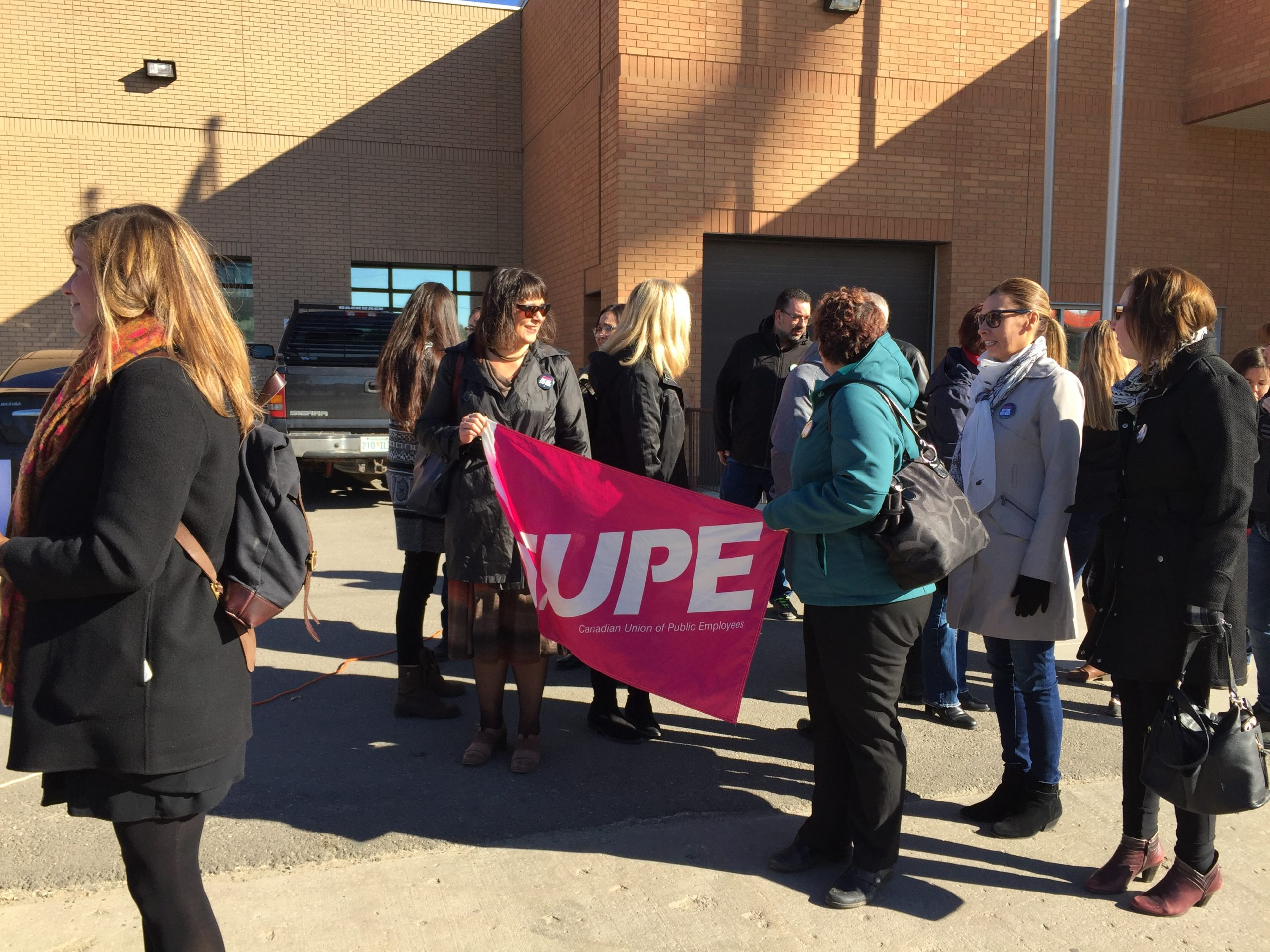 Members of CUPE Express Frustration with the Legal Aid Commission