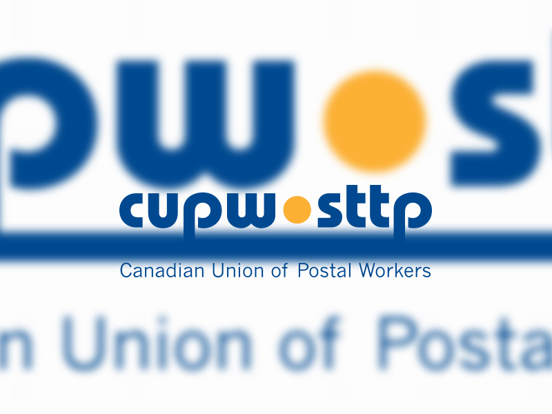 Canadian Union of Postal Workers Launch National Campaign