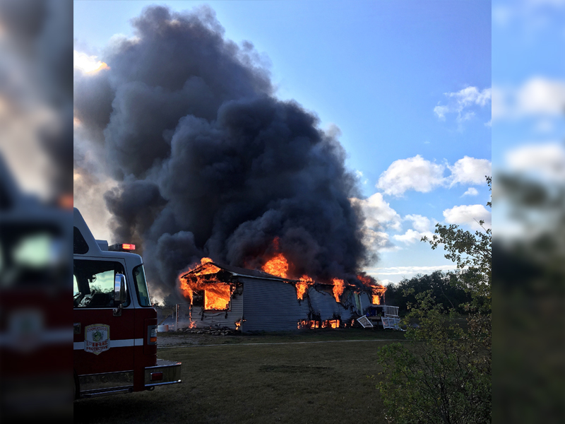 Mobile Home and Shed Lost in Corman Park Fire
