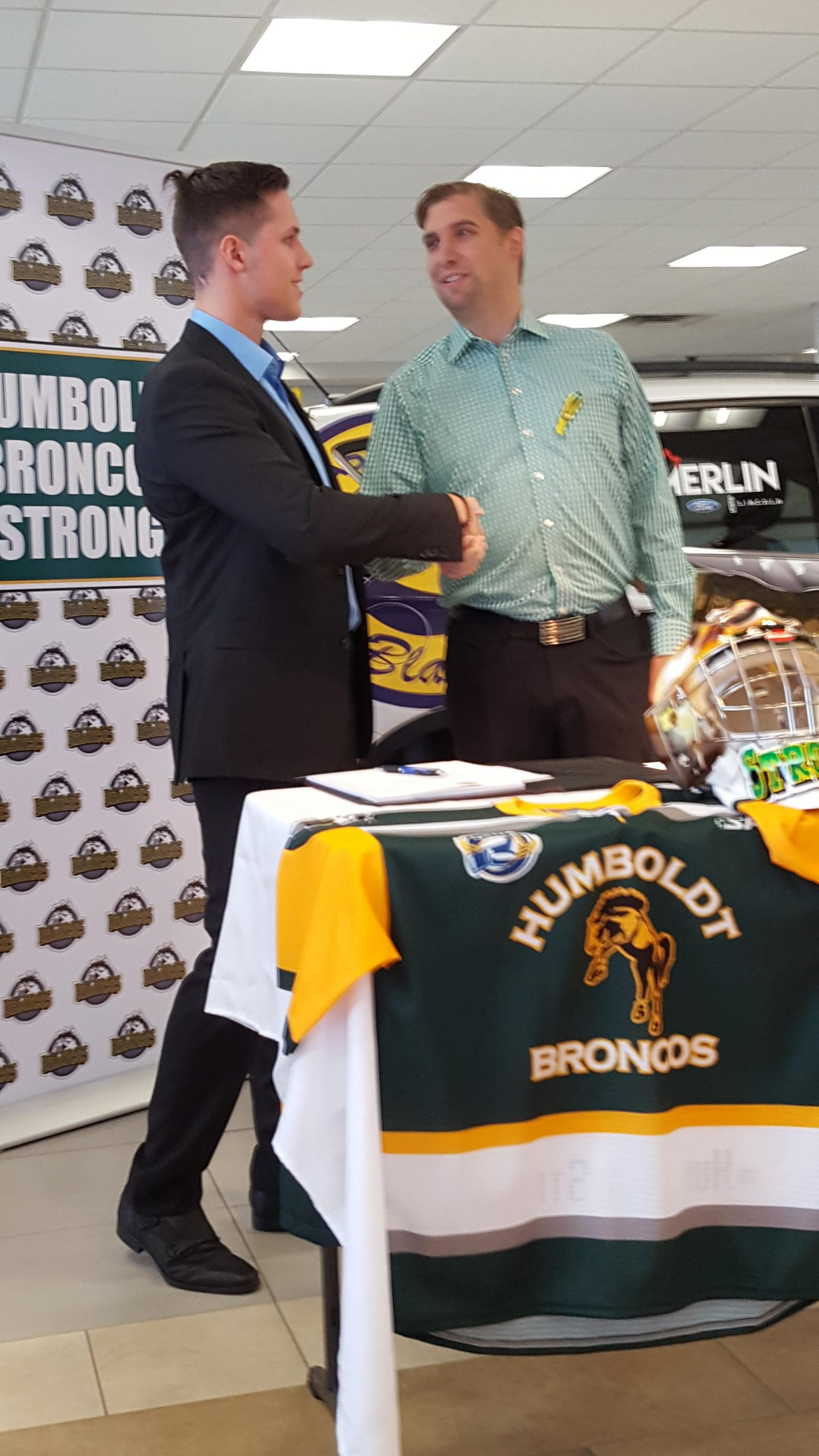 Blades Sign Humboldt Survivor Labelle as Hockey Operations Assistant