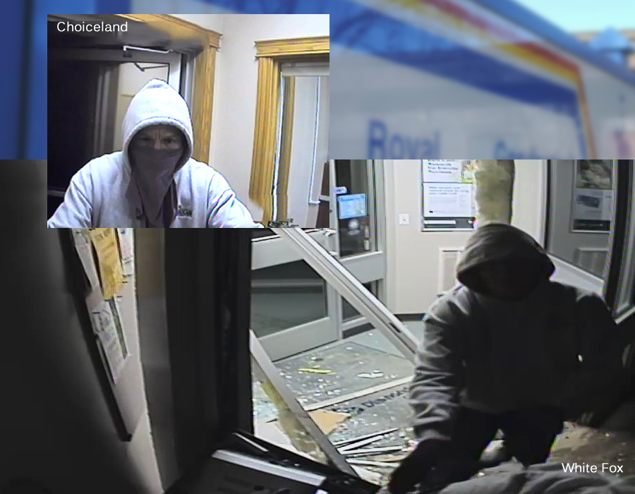 Looking For Suspect In Theft And Attempted Theft Of ATMs