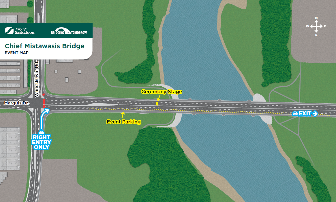 Saskatoon's new bridges open Oct 2nd