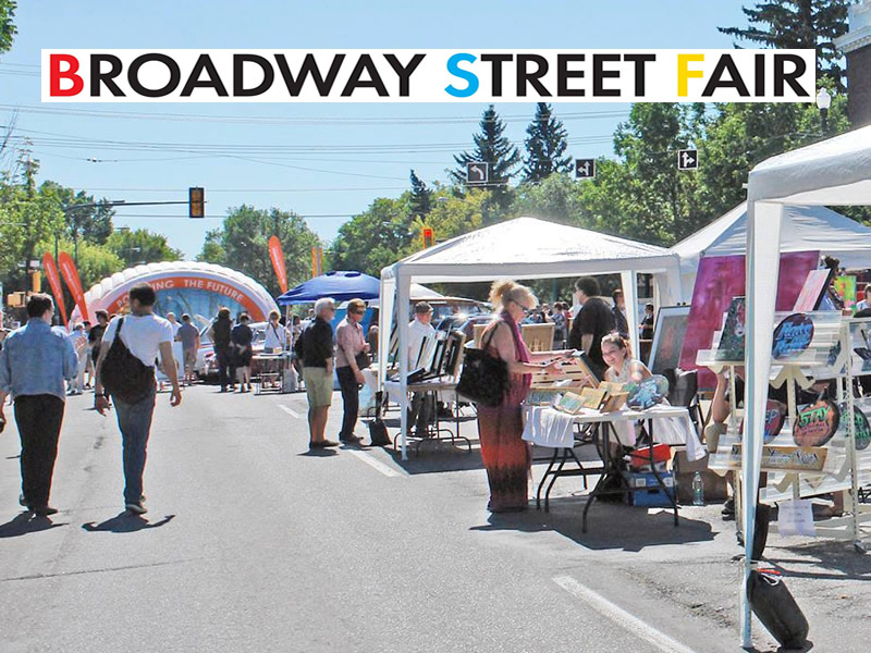 It's Time for the Broadway Street Fair