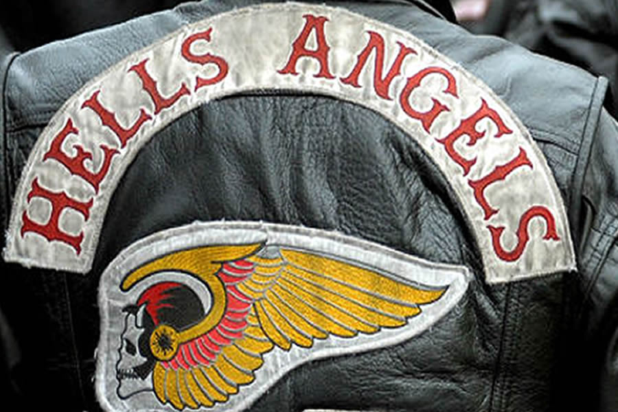 Local Hell's Angels Gather to Mark Anniversary