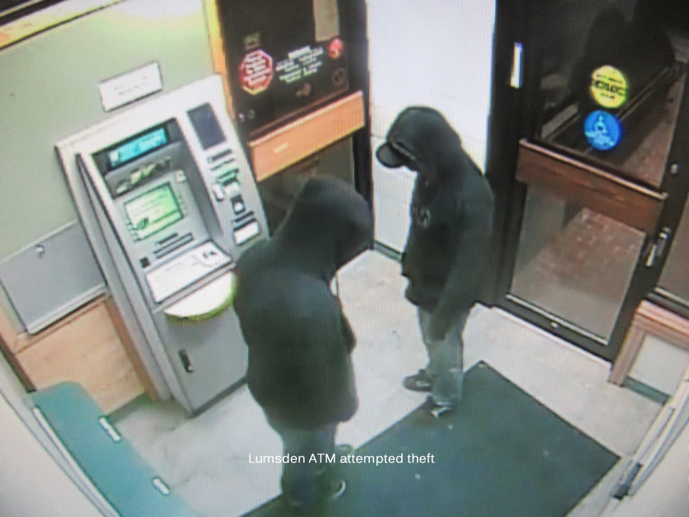 RCMP Investigate ATM Theft And Attempted ATM Theft