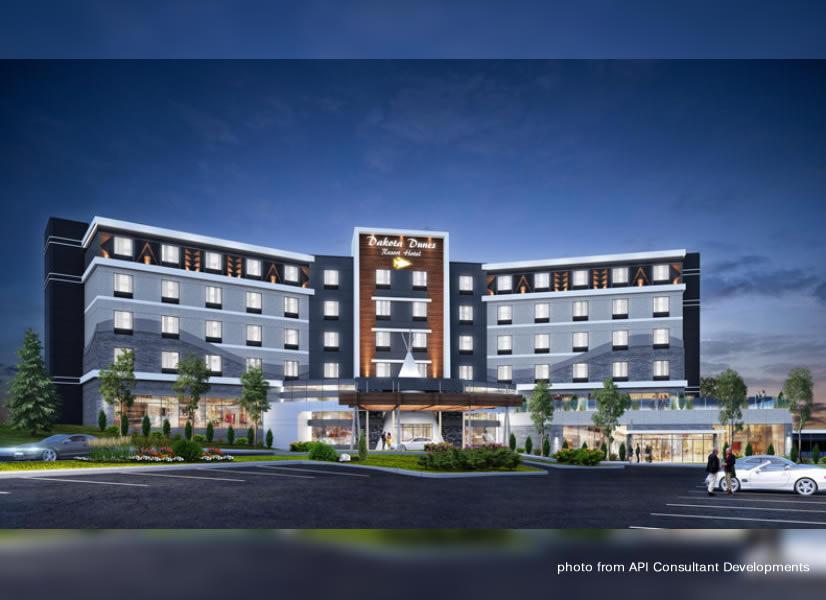 Ground Breaking Ceremony For Whitecap Dakota Hotel