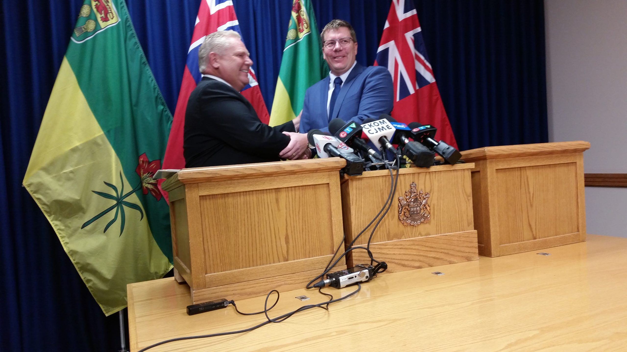 Moe and Ford: allies against the Carbon Tax