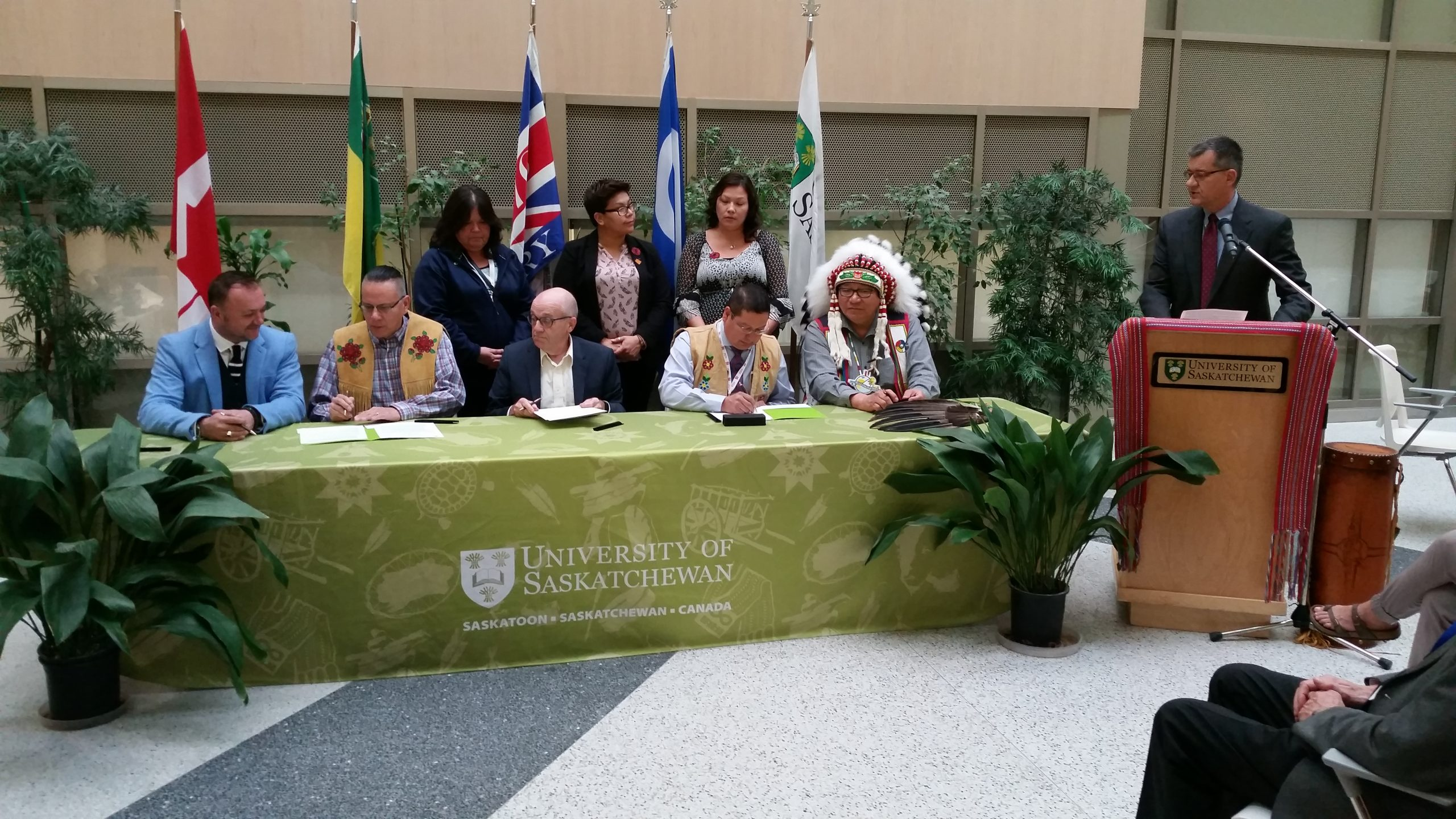 U-of-S and James Smith Cree Nation sign health MOU
