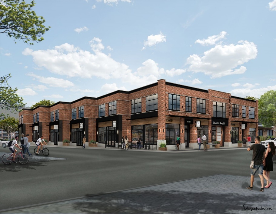 Mixed-Use Building Under Construction on 2nd Avenue