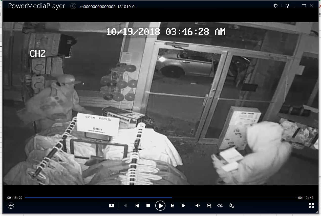 Robbers Spend 20 Minutes Inside Store During Break-In
