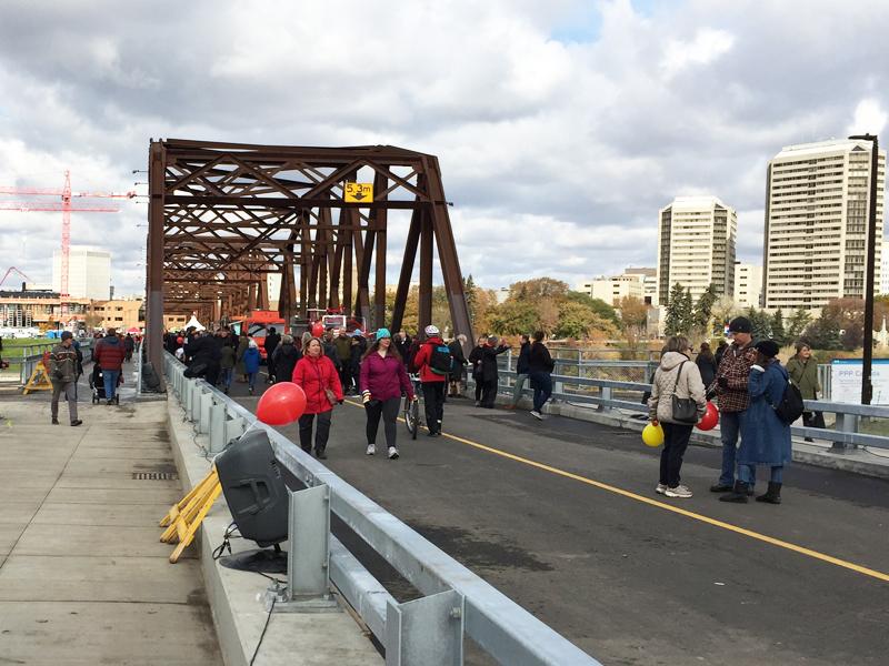 Traffic Bridge  Open to the Public