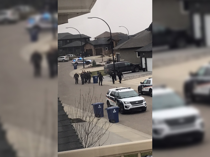 Heavy Police Presence in Willowgrove Monday Morning
