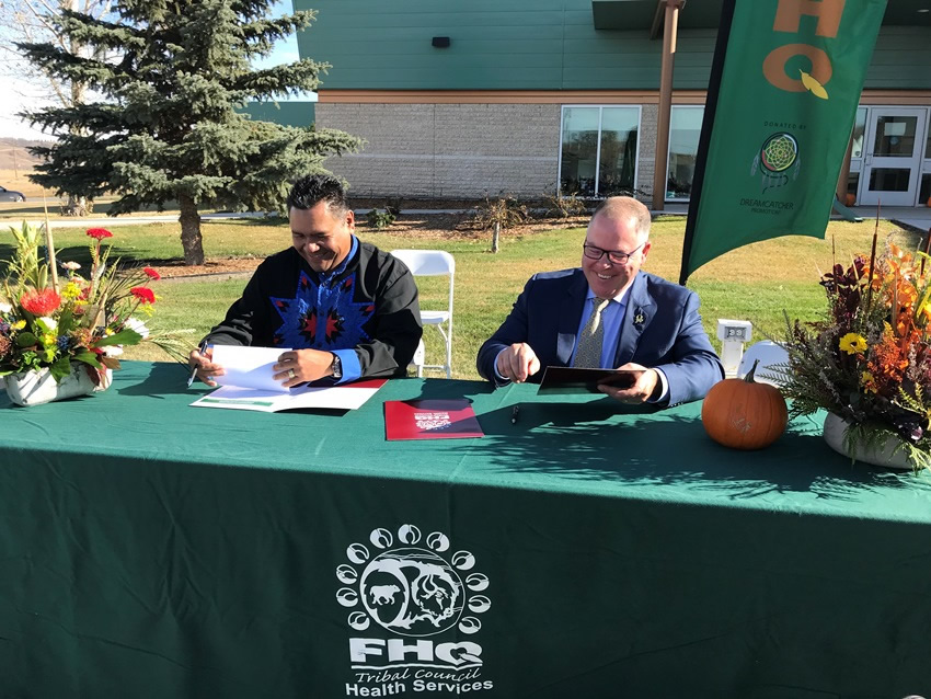 Collaboration Between Saskatchewan Health Authority and All Nations Healing Hospital