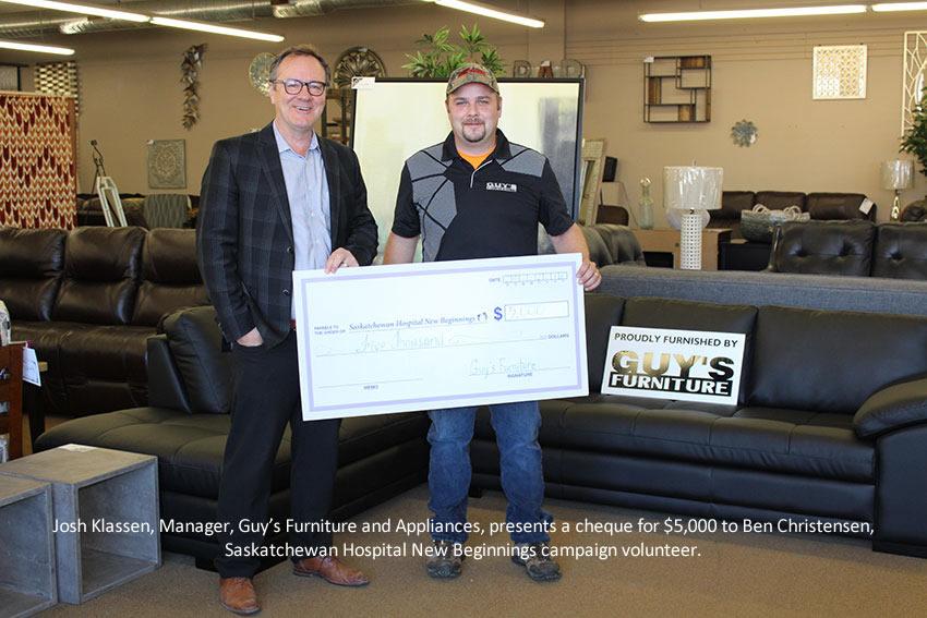 Saskatchewan Hospital Closer To Its Fundraising Goal