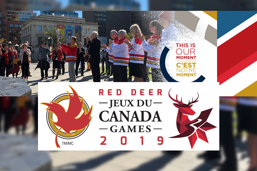 First Ever Canada Games Torch Relay Begins