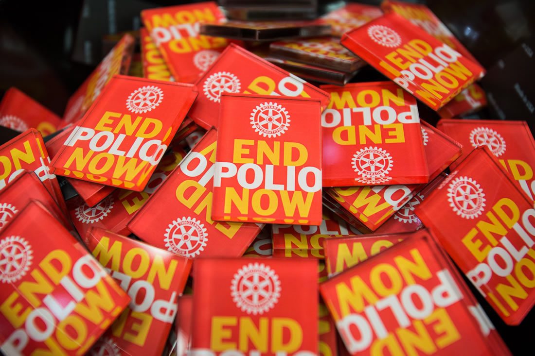 Saskatoon Rotary Clubs Contribute To Polio Eradication Project