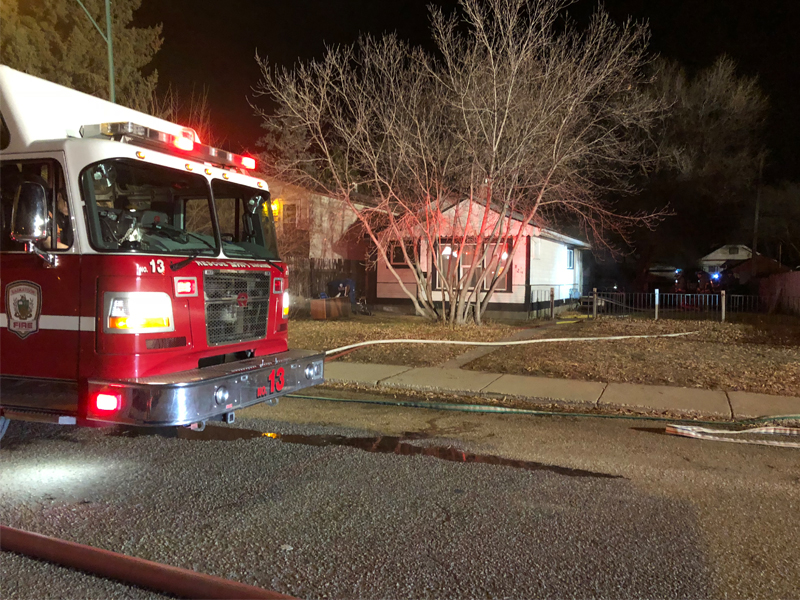 Sunday Morning House Fire Causes $40 Thousand Dollars in Damage