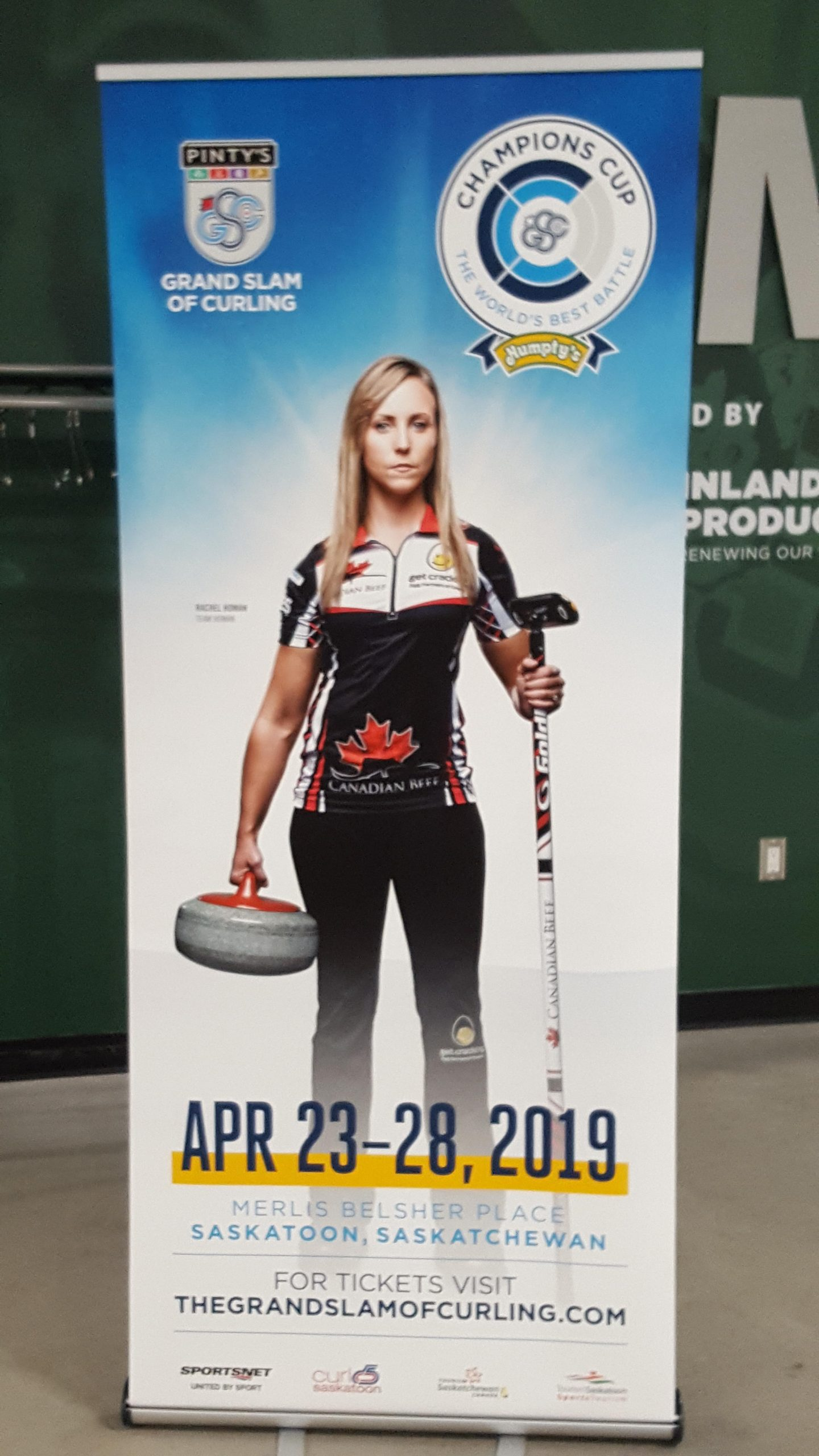 Event Tickets Now Available as Merlis Belsher Place to Host Grand Slam Curling