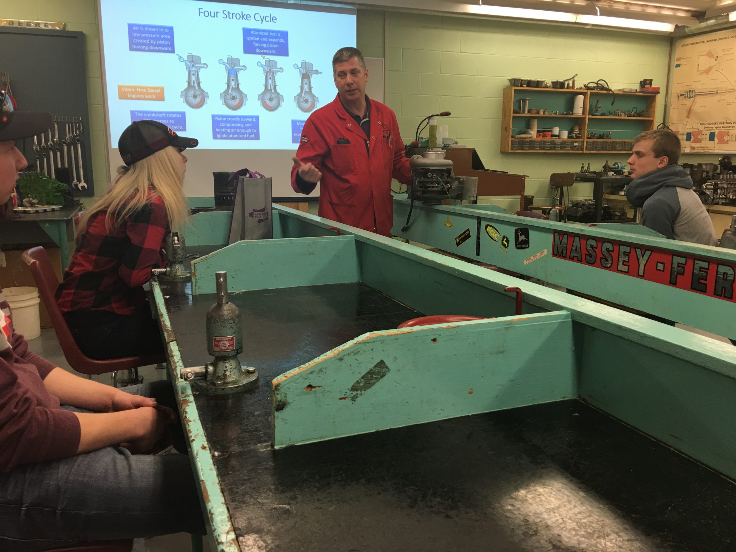 Boot Camp For Ag Equipment Tech Students