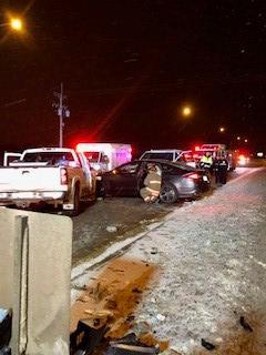 Multi-Vehicle Crash at Circle Drive and Airport Drive