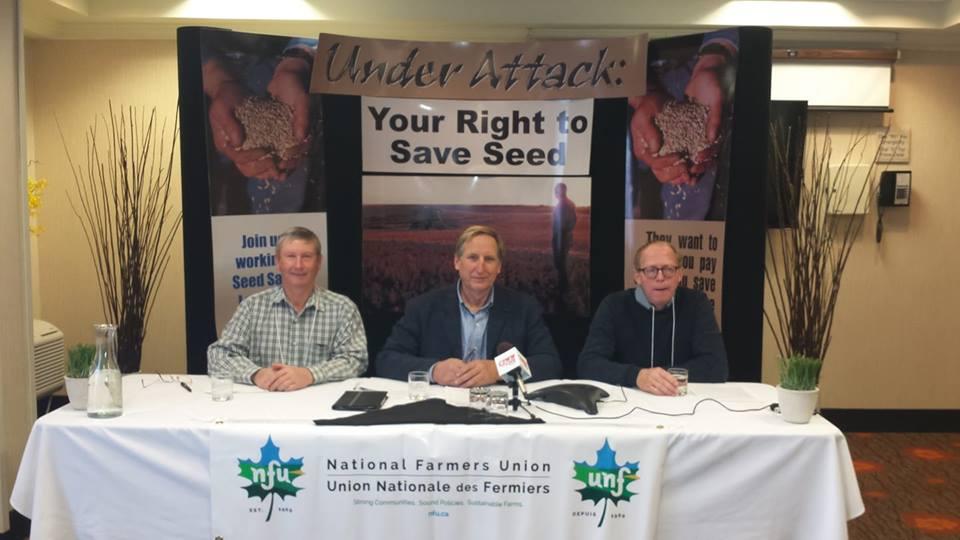 NFU Opposes Royalties on Farm Saved Seed
