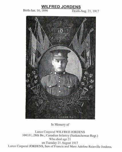 Coulee Named in Honour of Fallen Saskatchewan Soldier