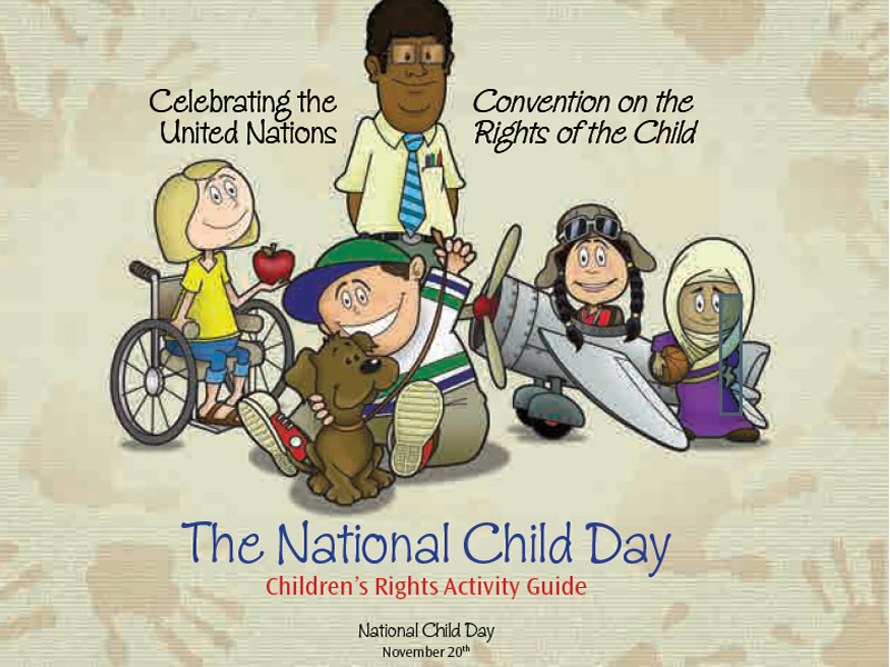 It's National Child Day