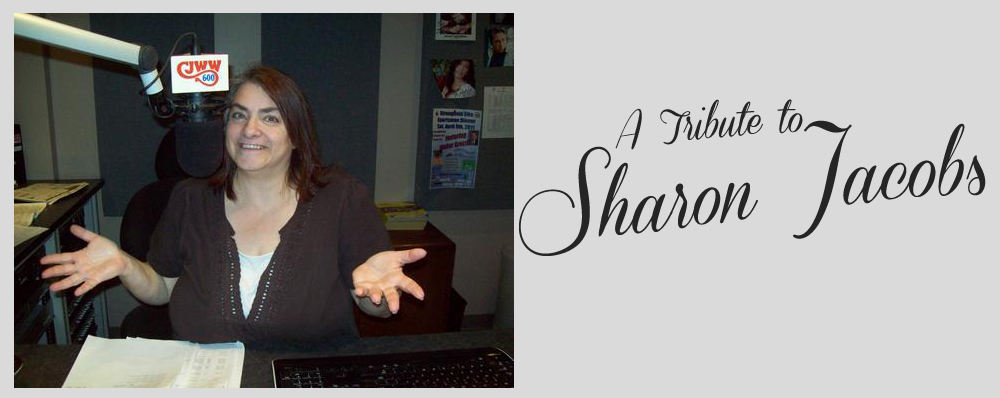 Feature: https://www.cjwwradio.com/a-tribute-to-sharon-jacobs/