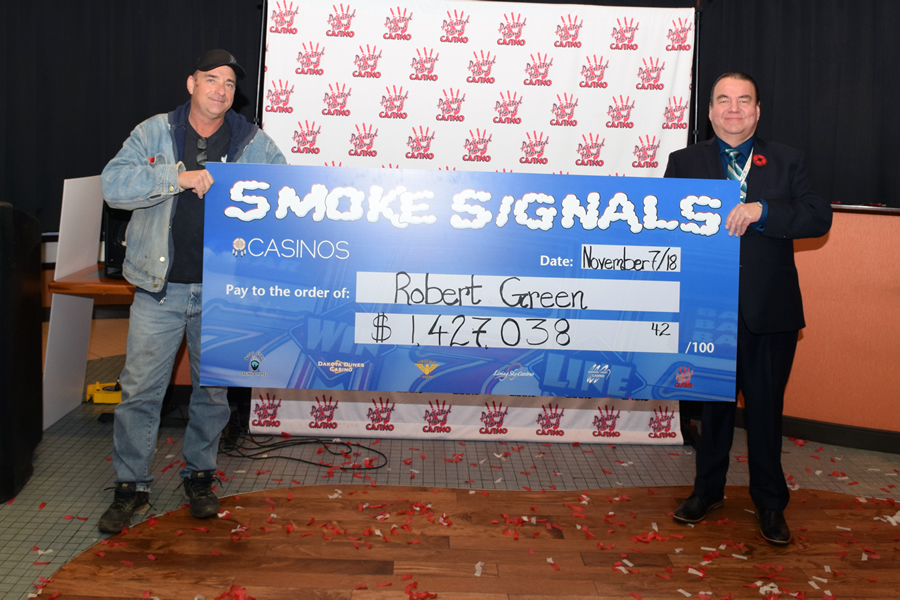 Big Smoke Signals Winner