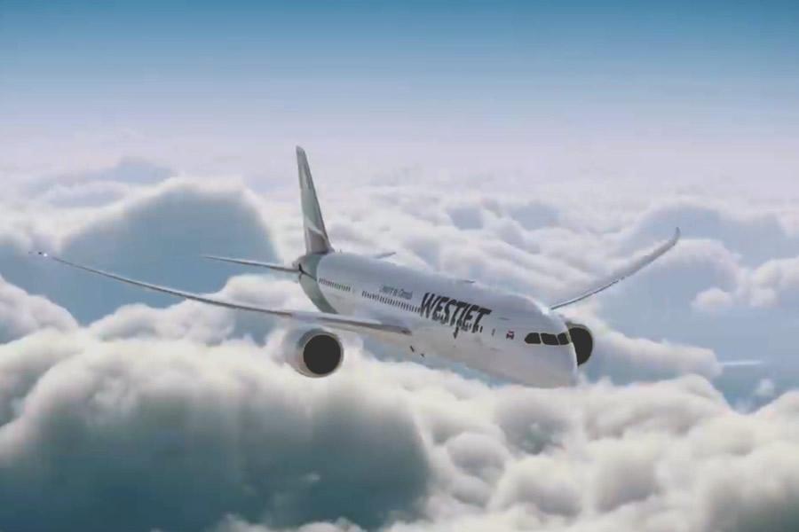 Tourism Saskatoon Enticing Conference Planners with WestJet's V.I.Plane