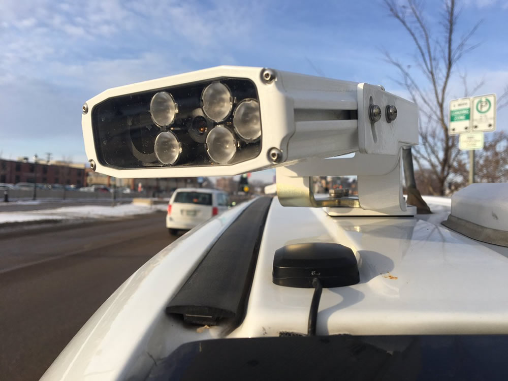 Automated Licence Plate Readers Allow Officers to Scan Plates More Quickly and Efficiently