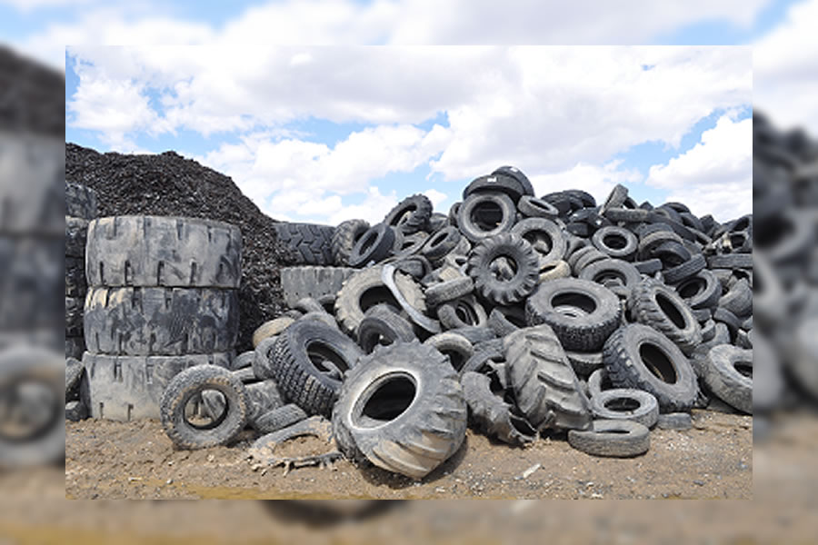 Scrapping The Scrap Tires In Assiniboia