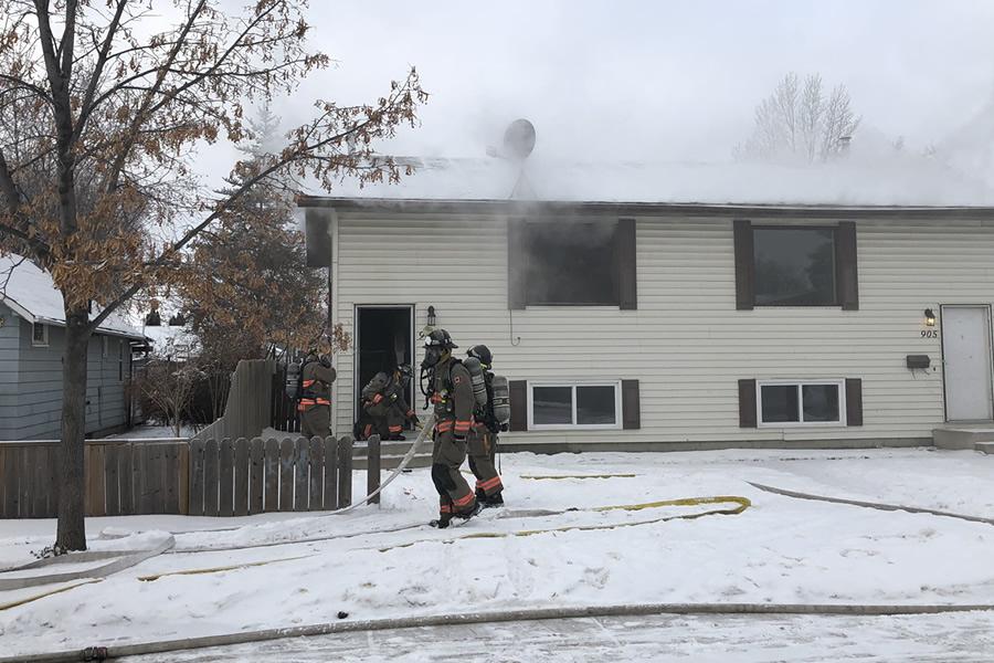 Duplex Fire On Avenue O