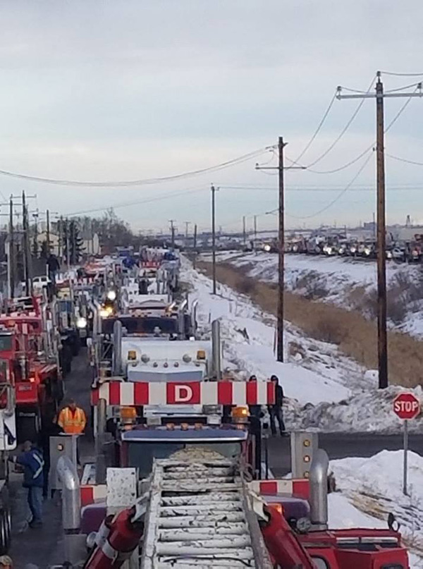 Trucks For Sale Edmonton >> Plans in the Works to Host More Pro-Pipeline Convoys | Country 600 CJWW