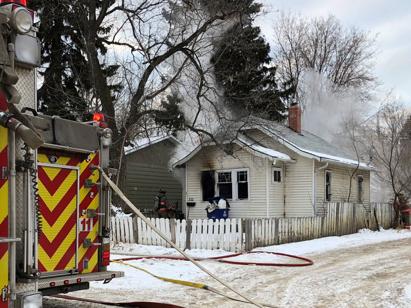 Morning House Fire Causes $60 Thousand Dollars Damage