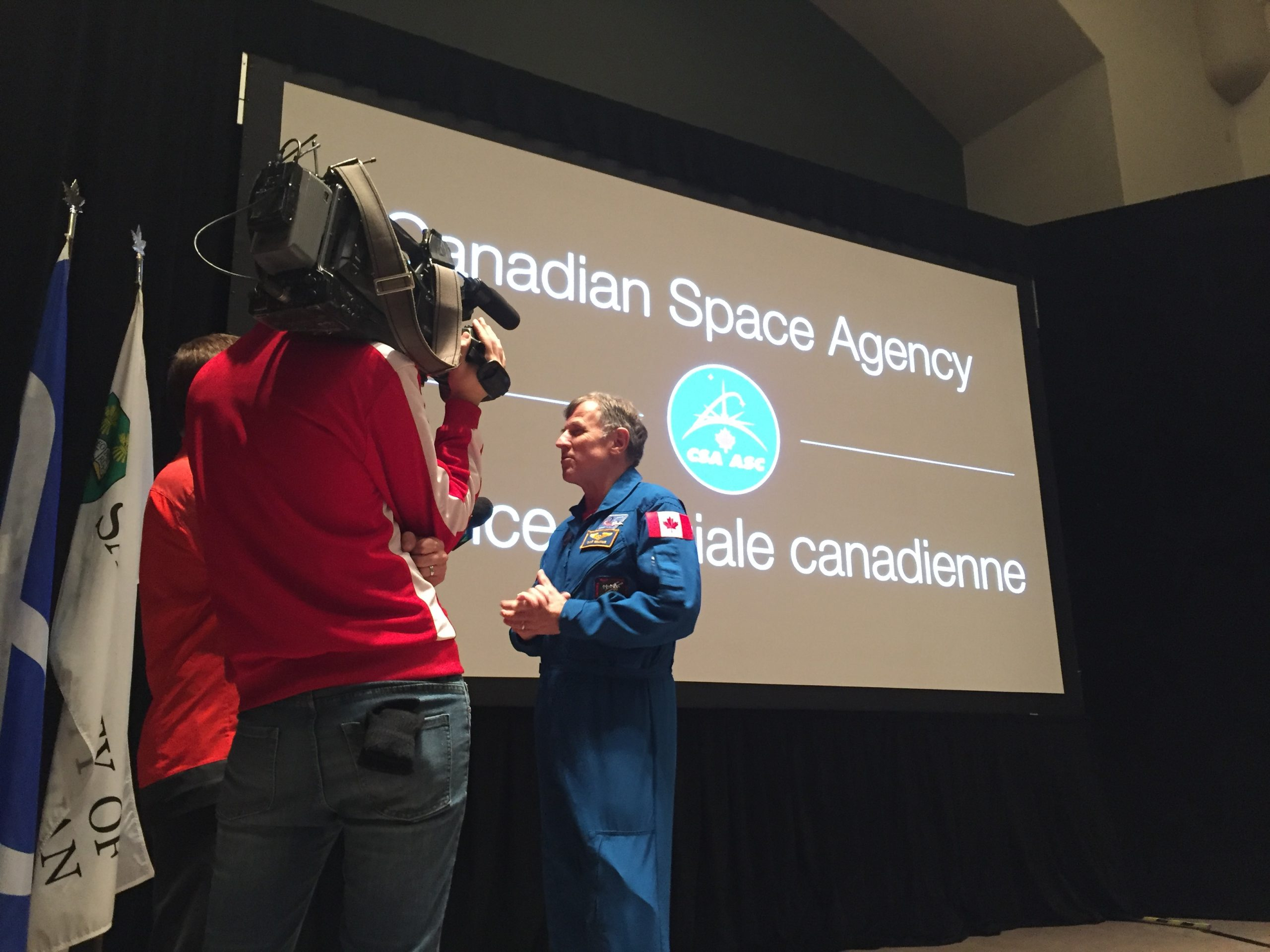 Students Chat with Astronaut Live from the International Space Station